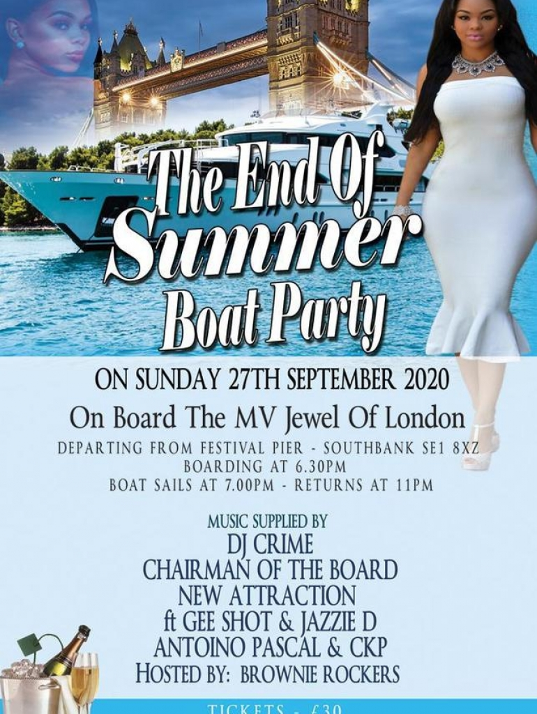 Summer boat